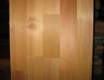Способ укладки доски пола из лиственницы