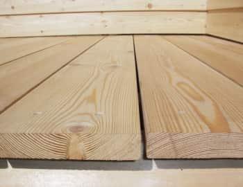 Доска палубная из лиственницы