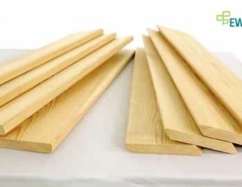 Внешний вид планкена из лиственницы