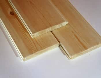 Потолочная рейка из сосны
