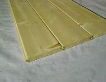 Шип-паз соединение потолочной рейки