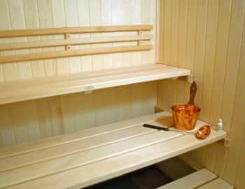 Осина в бане или сауне
