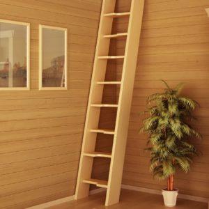 Лестница деревянная «Тайга 1»