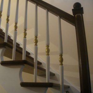 Лестница деревянная «Тайга 13»
