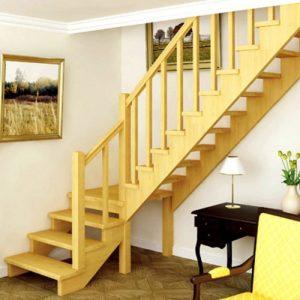 Лестница деревянная «Тайга 16»