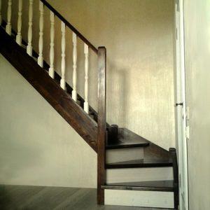 Лестница деревянная «Тайга 17»