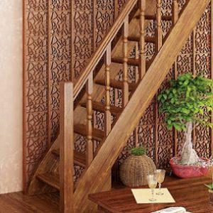 Лестница деревянная «Тайга 10»