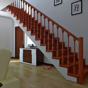 Лестница деревянная «Тайга 8»